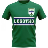 Lesotho Core Football Country T-Shirt (Green)