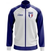 France Concept Football Track Jacket (White)