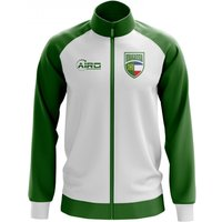 Khakassia Concept Football Track Jacket (White)