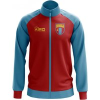 Mongolia Concept Football Track Jacket (Red)