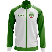 Somaliland Concept Football Track Jacket (White)