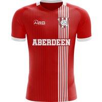 Image of 2020-2021 Aberdeen Home Concept Football Shirt - Baby