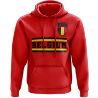 Belgium Core Football Country Hoody (Red)