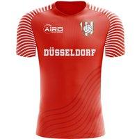 2019-2020 Fortuna Dusseldorf Home Concept Football Shirt - Kids