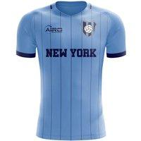 2019-2020 New York City Home Concept Football Shirt - Kids