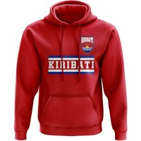 Kiribati Core Football Country Hoody (Red)