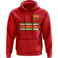 Transnistria Core Football Country Hoody (Red)