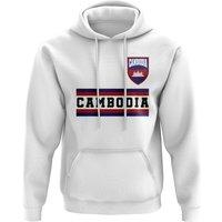 Cambodia Core Football Country Hoody (White)