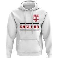 England Core Football Country Hoody (White)