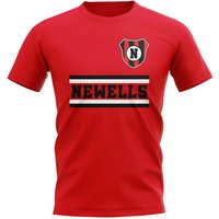 Newells Old Boys Core Football Club T-Shirt (Red)