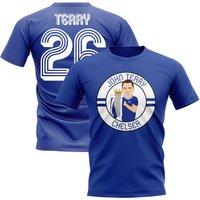 John Terry Chelsea Illustration T-Shirt (Blue)
