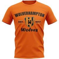 Wolves Established Football T-Shirt (Orange)