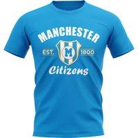 Man City Established Football T-Shirt (Sky)