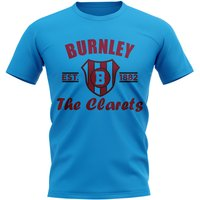 Burnley Established Football T-Shirt (Sky)