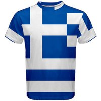Greece Greek Flag Sublimated Sports Jersey