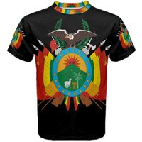 Bolivia Coat of Arms Sublimated Sports Jersey - Kids