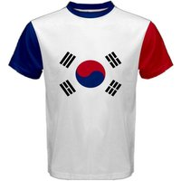 South Korea Coat of Arms Sublimated Sports Jersey - Kids