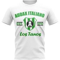 Audax Italiano Established Football T-Shirt (White)