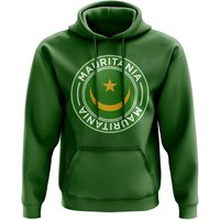 Mauritania Football Badge Hoodie (Green)