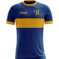 2019-2020 Boca Juniors Home Concept Football Shirt - Adult Long Sleeve