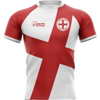 2020-2021 England Flag Concept Rugby Shirt - Adult Long Sleeve