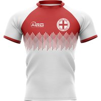 2020-2021 England Home Concept Rugby Shirt - Kids (Long Sleeve)