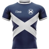 2020-2021 Scotland Flag Concept Rugby Shirt - Baby