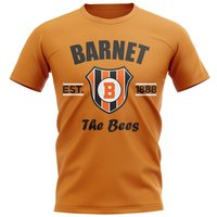 Barnet Established Football T-Shirt (Orange)