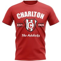 Charlton Established Football T-Shirt (Red)