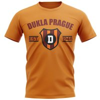 Dukla Prague Established Football T-Shirt (Orange)