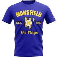 Mansfield Established Football T-Shirt (Blue)