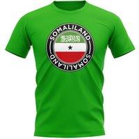 Somaliland Football Badge T-Shirt (Green)