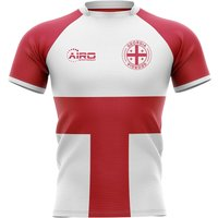 2020-2021 Georgia Flag Concept Rugby Shirt