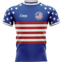 2020-2021 United States USA Flag Concept Rugby Shirt