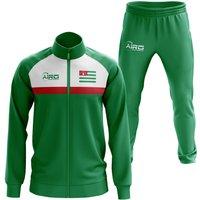 Abkhazia Concept Football Tracksuit (Green)