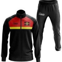 Alderney Concept Football Tracksuit (Black)