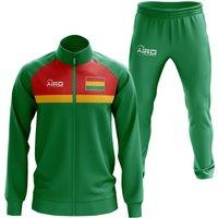 Bolivia Concept Football Tracksuit (Green)