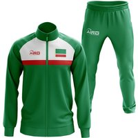 Chechen Republic Concept Football Tracksuit (Green)