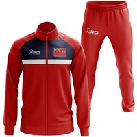 Bermuda Concept Football Tracksuit (Red)