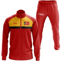 East Timor Concept Football Tracksuit (Red)