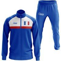 France Concept Football Tracksuit (Royal)
