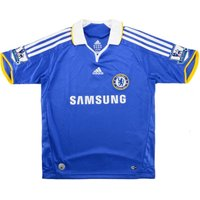 2008-09 Chelsea Adidas Home Football Shirt (kids)