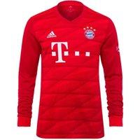2019-2020 Bayern Munich Adidas Home Long Sleeve Shirt (Kids)