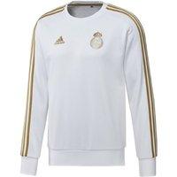 2019-2020 Real Madrid Adidas Sweat Top (White)
