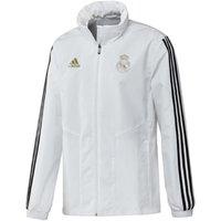 2019-2020 Real Madrid Adidas Allweather Jacket (White)