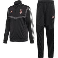 2019-2020 Juventus Adidas Presentation Tracksuit (Black)