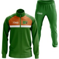 Image of Zambia Concept Football Tracksuit (Green)