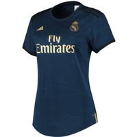 2019-2020 Real Madrid Adidas Womens Away Shirt