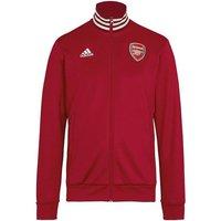 2019-2020 Arsenal Adidas 3S Track Top (Maroon)
