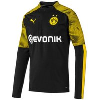 2019-2020 Borussia Dortmund Puma Half Zip Training Top (Black)